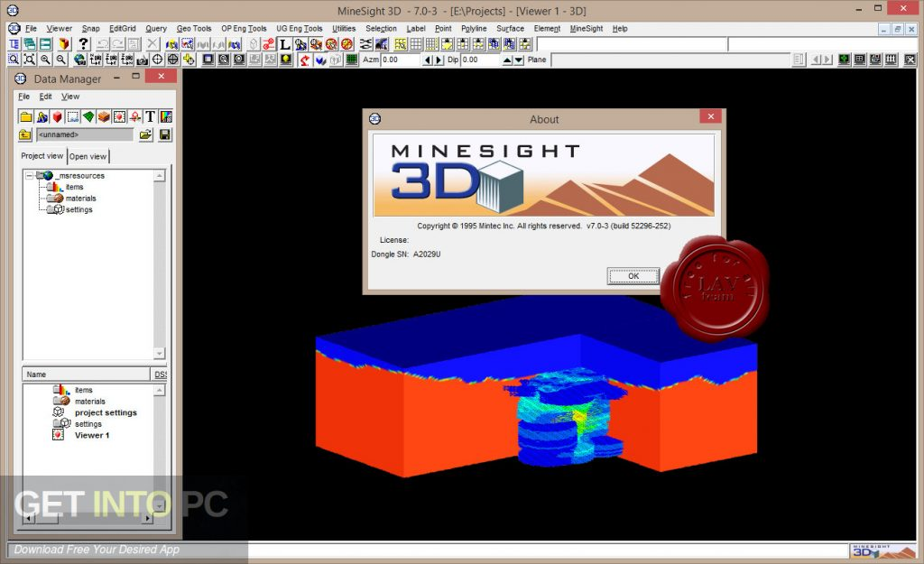 Leica Mintec MineSight 3D v9.50 Latest Version Download-GetintoPC.com