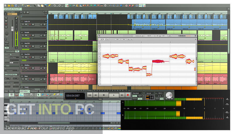 MAGIX Samplitude Pro X3 Suite Direct Link Download-GetintoPC.com