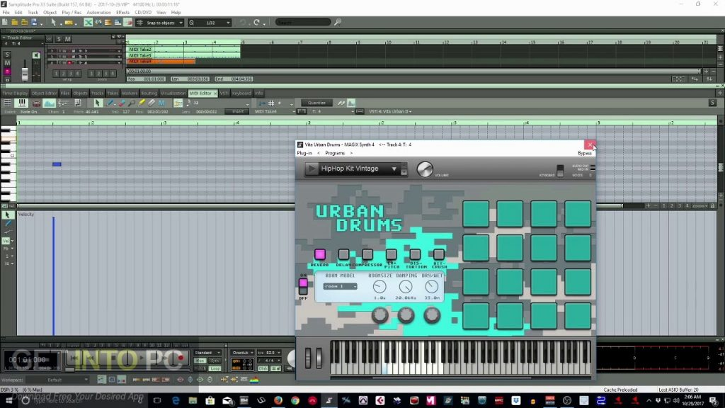 MAGIX Samplitude Pro X3 Suite Latest Version Download-GetintoPC.com