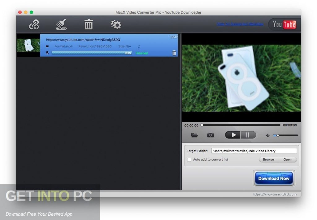 MacX HD Video Converter Pro Latest Version Download-GetintoPC.com