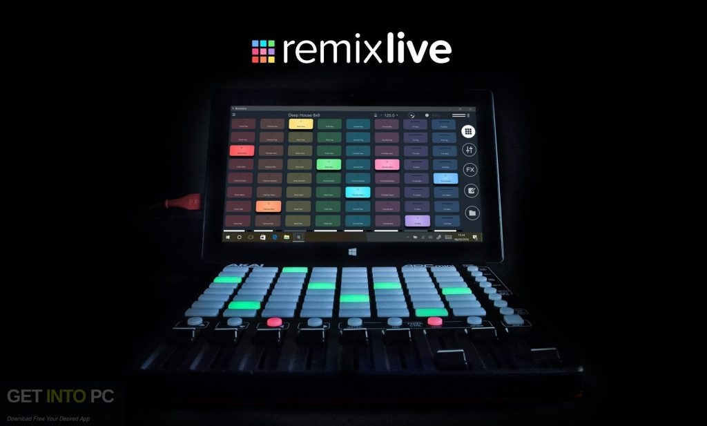 Mixvibes Remixlive Free Download-GetintoPC.com