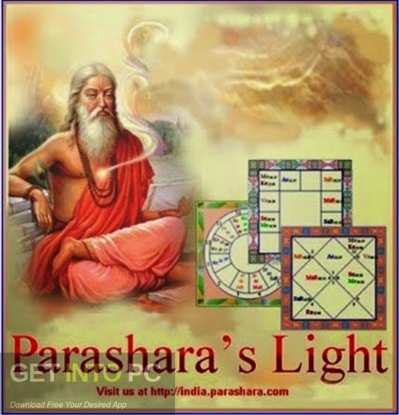 Parashara's Light Professional 7.0.1 Vedic Astrology Free Download-GetintoPC.com