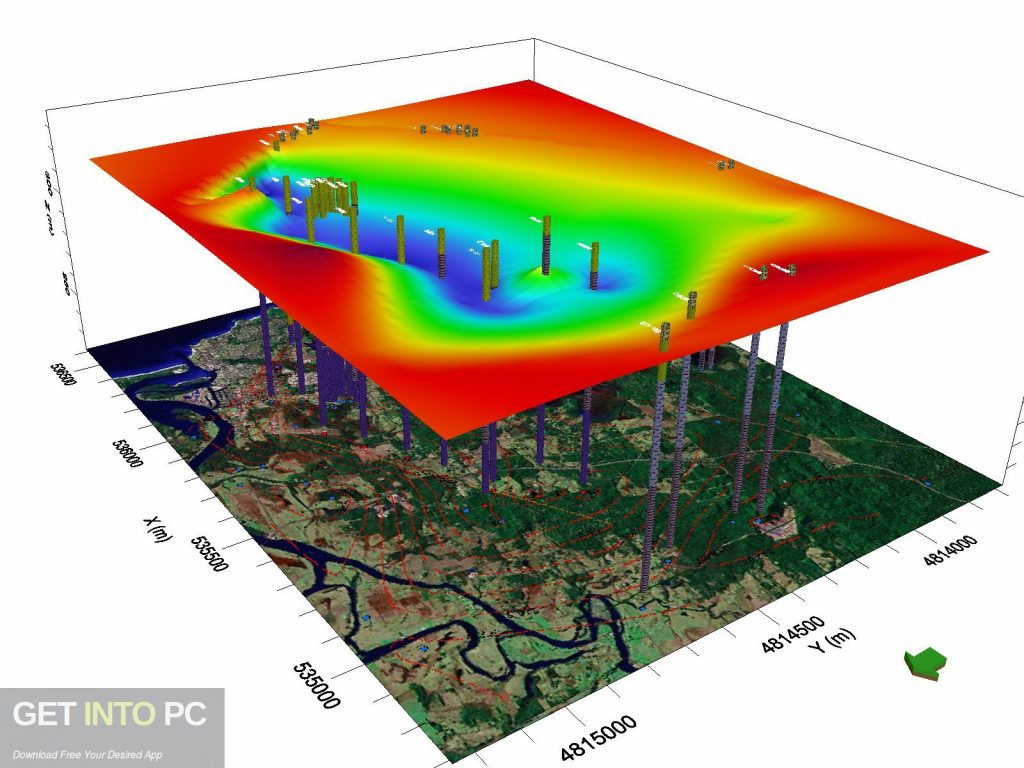 Schlumberger Hydro GeoAnalyst 2014 Latest Version Download-GetintoPC.com