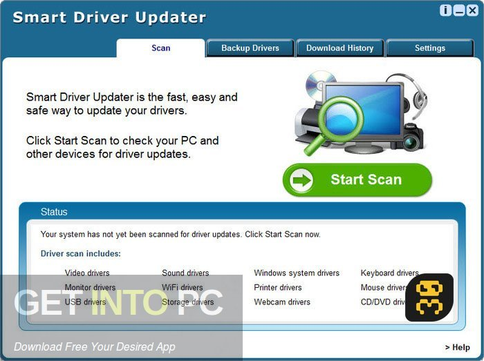 Smart Driver Updater 4.0.5 Direct Link Download-GetintoPC.com