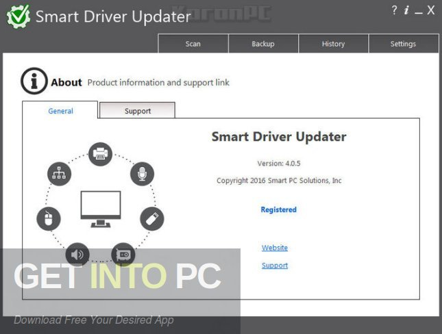 Smart Driver Updater 4.0.5 Offline Installer Download-GetintoPC.com