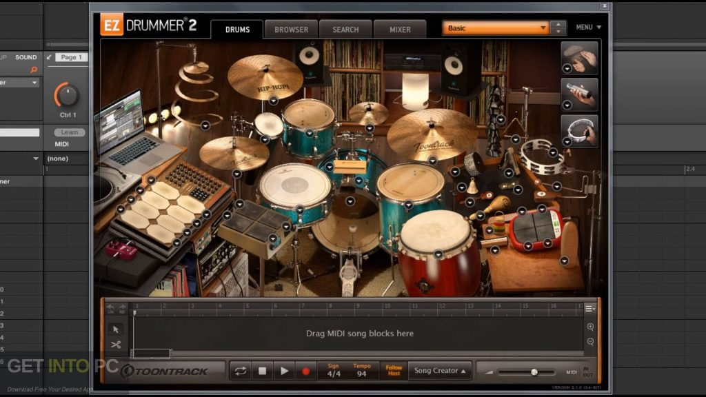 Toontrack EZdrummer 2 Direct Link Download-GetintoPC.com