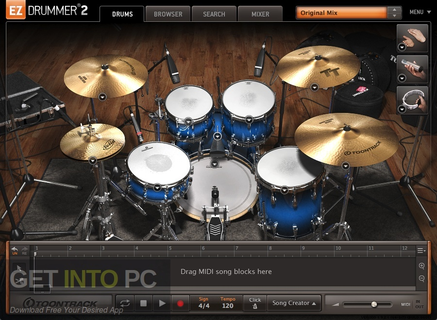 Toontrack EZdrummer 2 Latest Version Download-GetintoPC.com