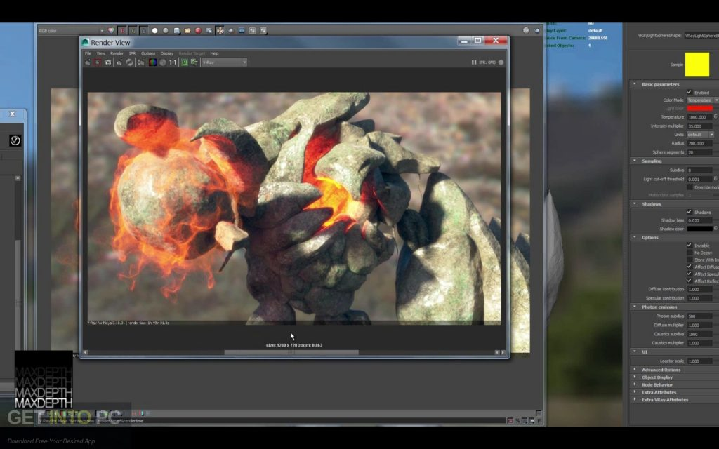 V-Ray For Maya 2015 Direct Link Download-GetintoPC.com