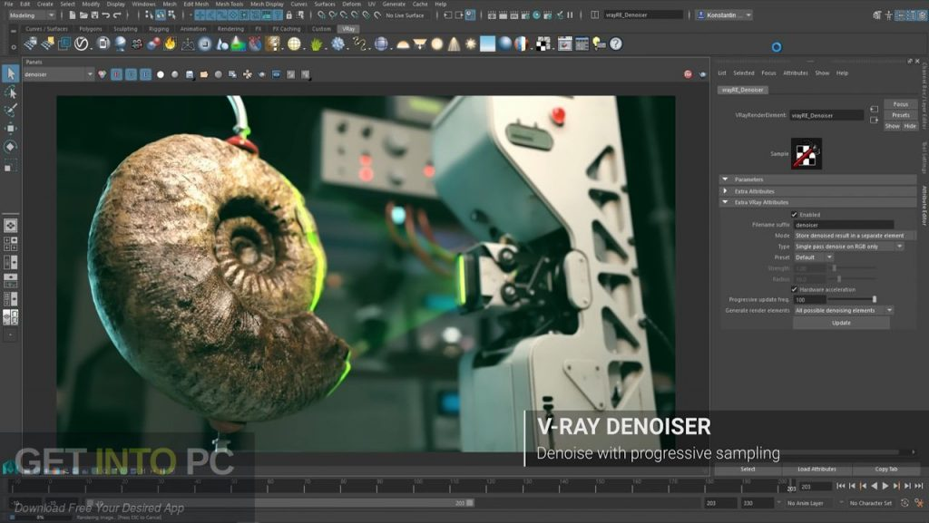 V-Ray For Maya 2016 Latest Version Download-GetintoPC.com