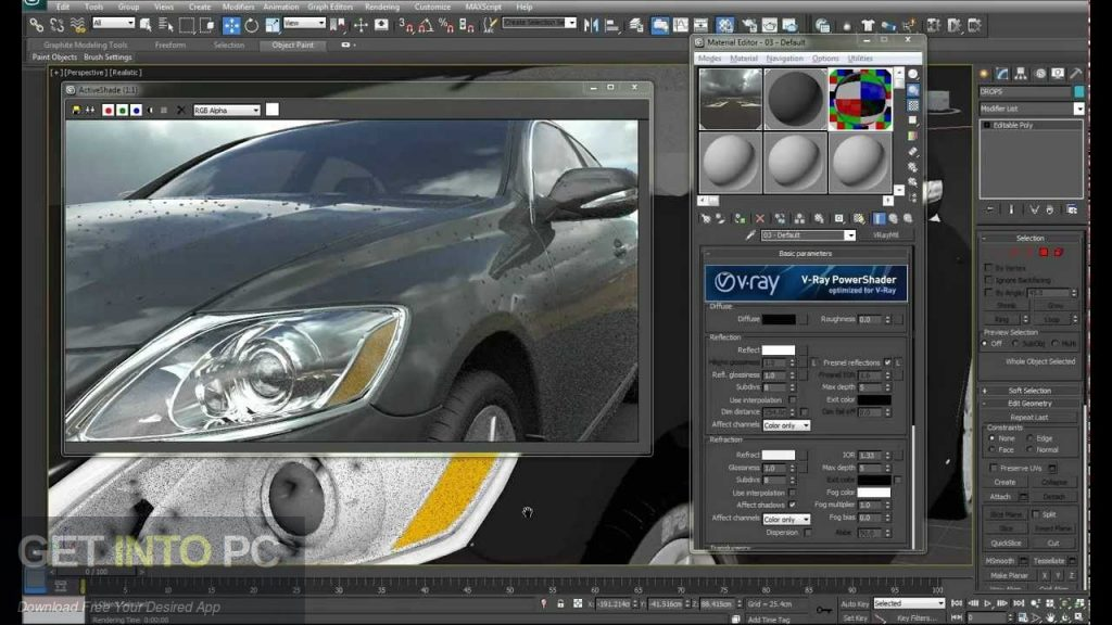 V-Ray for 3D Max 2013 Direct Link Download-GetintoPC.com