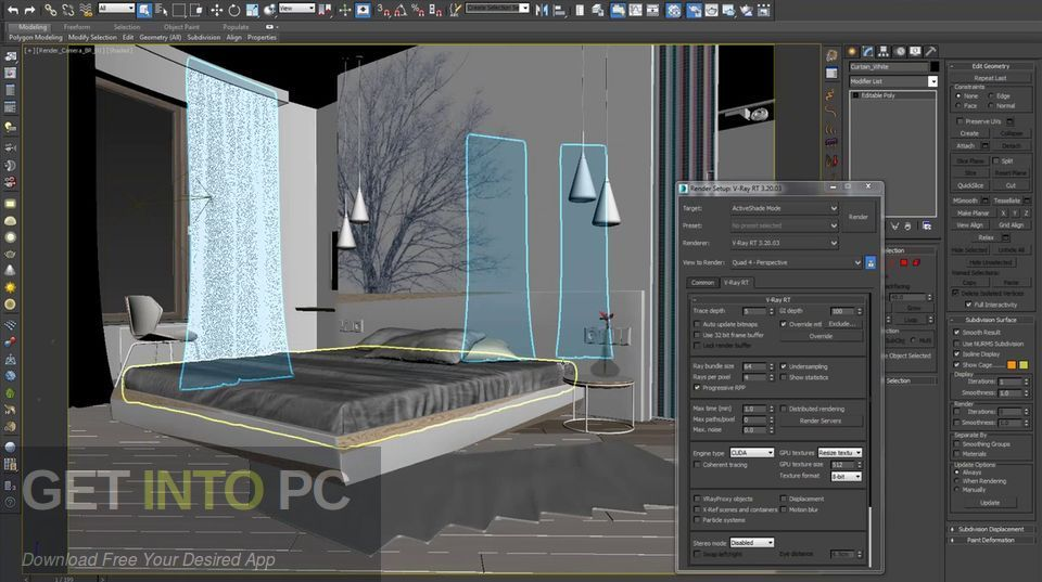 V-Ray for 3D Max 2013 Latest Version Download-GetintoPC.com