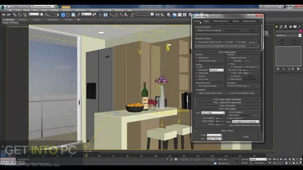 V-Ray for 3D Max 2014 Latest Version Download-GetintoPC.com