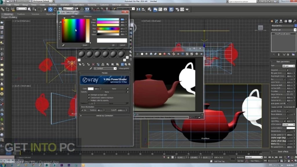 V-Ray for 3D Max 2014 Offline Installer Download-GetintoPC.com