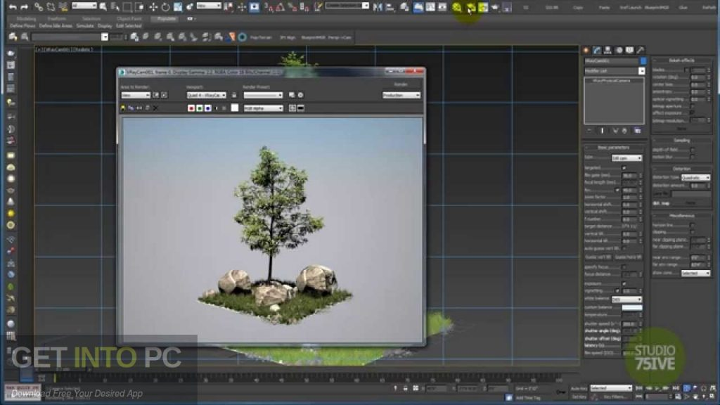 V-Ray for 3D Max 2015 Latest Version Download-GetintoPC.com