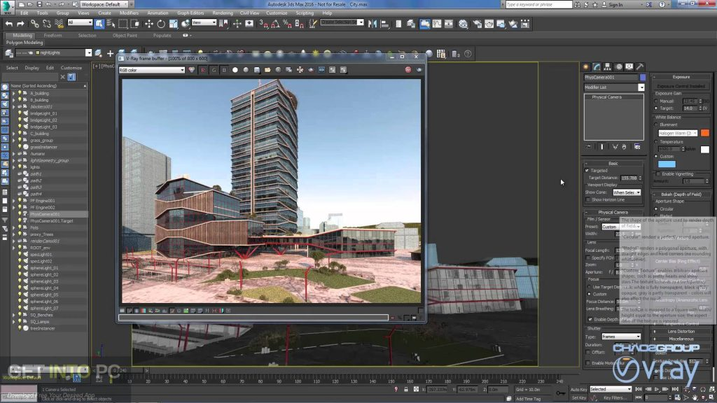 V-Ray for 3D Max 2016 Direct Link Download-GetintoPC.com