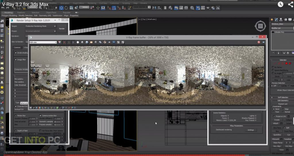 V-Ray for 3D Max 2017 Latest Version Download-GetintoPC.com