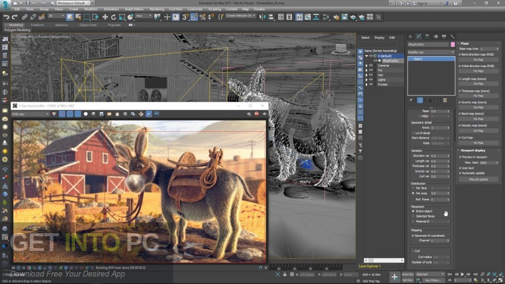 V-Ray for 3D Max 2018 Offline Installer Download-GetintoPC.com