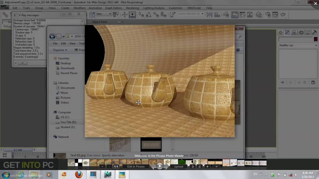 V-Ray for 3ds Max 2009 2010 2011 2012 Offline Installer Download-GetintoPC.com