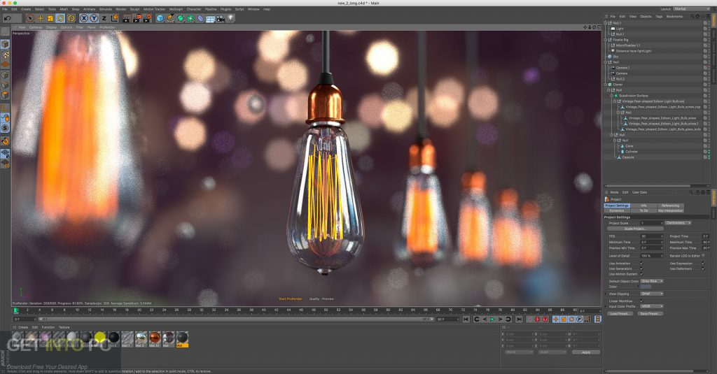 V-Ray for Cinema 4D 2018 MacOS Direct Link Download-GetintoPC.com