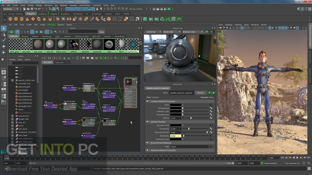 V-Ray for Maya 2018 x64 Direct Link Download-GetintoPC.com