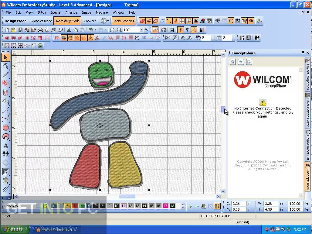 Wilcom Embroidery Studio e1.5 Direct Link Download-GetintoPC.com