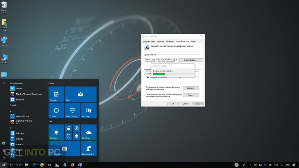 Windows 10 All in One Sep 2018 Offline Installer Download-GetintoPC.com
