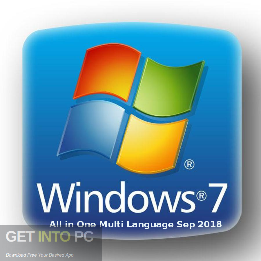 Windows 7 All in One Multi Language Sep 2018 Free Download-GetintoPC.com