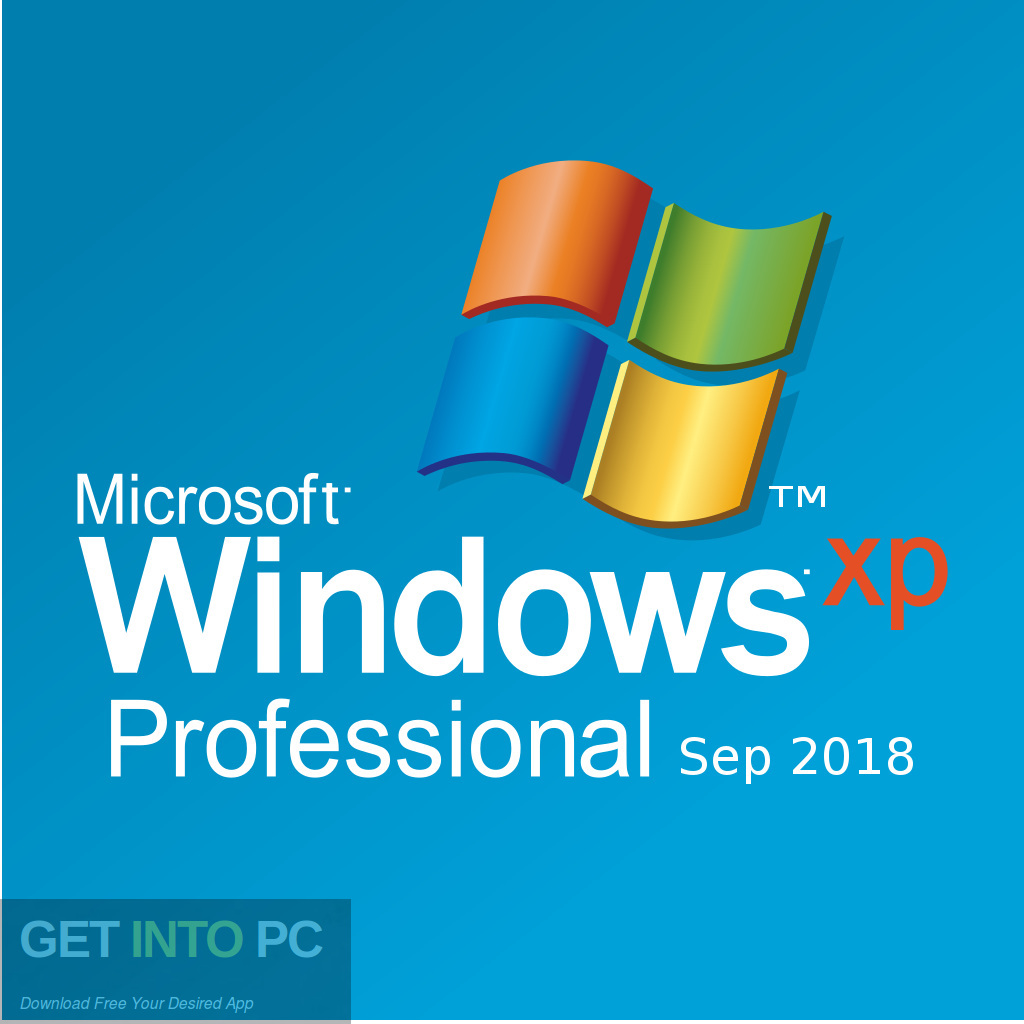 Windows XP Professional Sep 2018 Free Download-GetintoPC.com