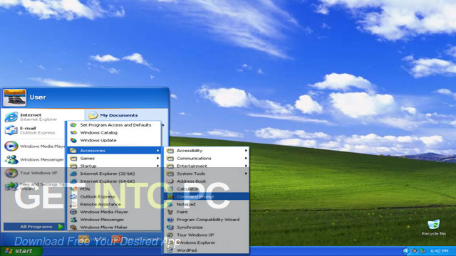 Windows XP Professional Sep 2018 Offline Installer Download-GetintoPC.com