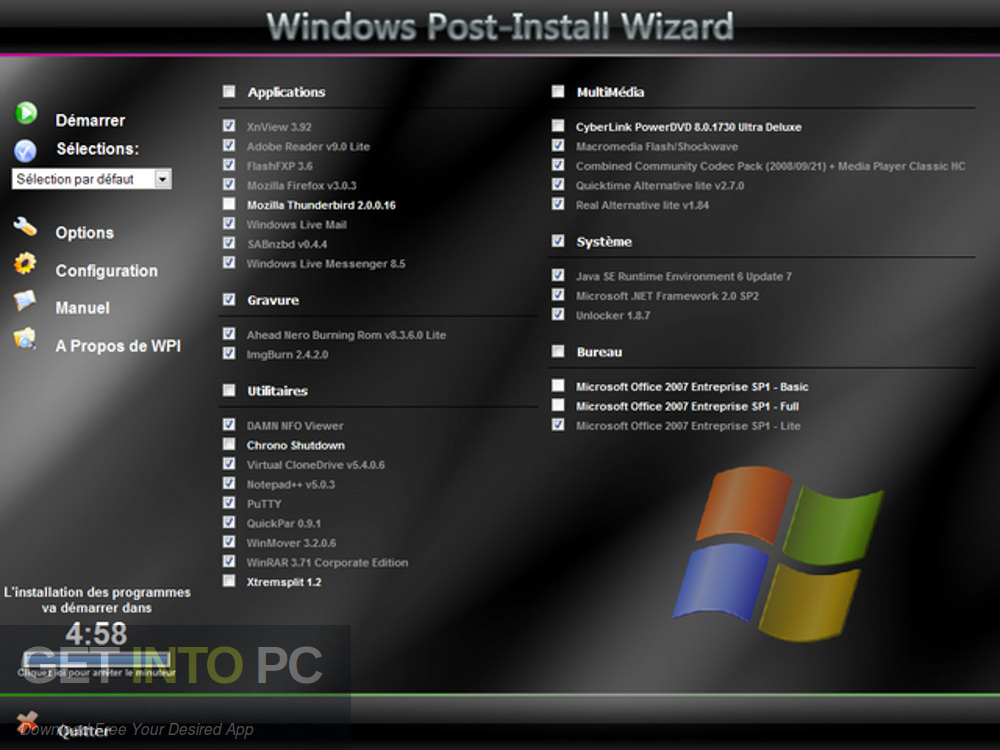 Windows XP Sweet 6.2 Final Latest Version Download-GetintoPC.com