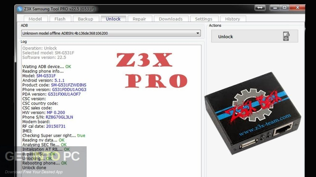Z3X Pro Full Without Box Direct Link Download-GetintoPC.com
