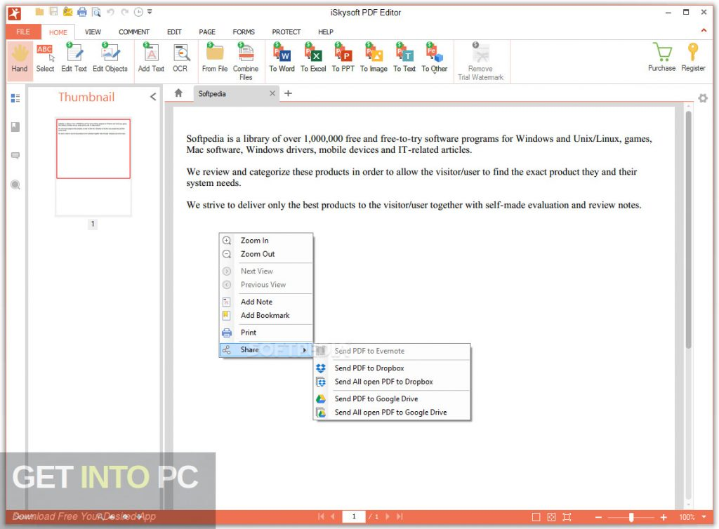 iSkysoft PDF Editor Pro 6.3.5 Free Download