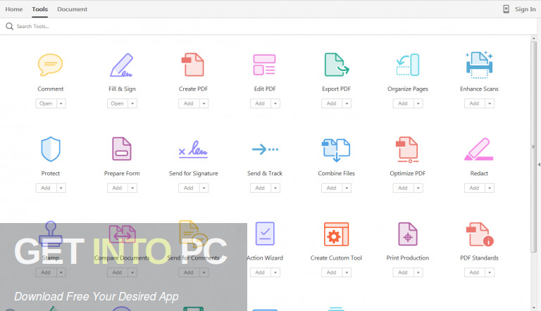 Adobe Acrobat Pro DC 2019 DMG for MacOS Free Download