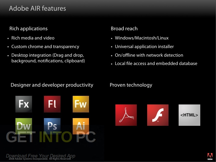 Adobe Air 31 Latest Version Download-GetintoPC.com