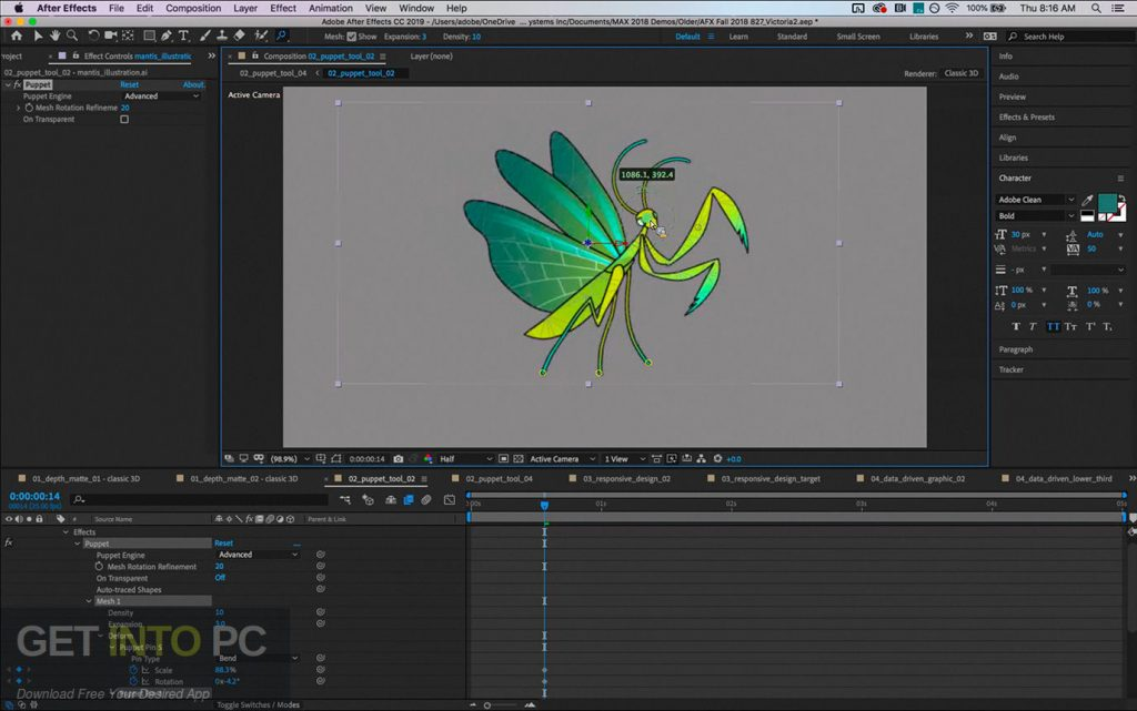 Adobe Animate CC 2019 Direct Link Download-GetintoPC.com