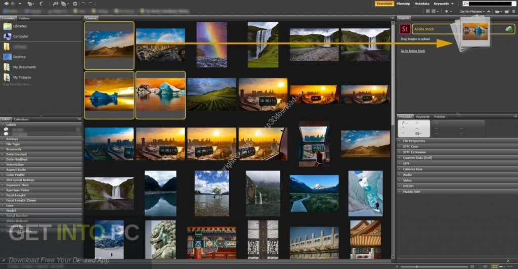 Adobe Bridge CC 2019 Offline Installer Download-GetintoPC.com