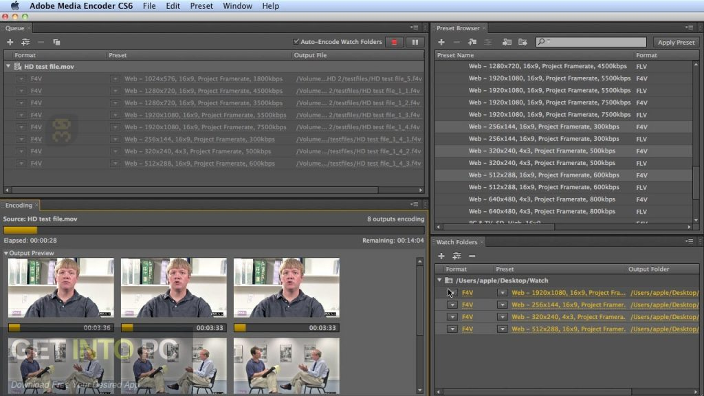 Adobe Media Encoder CC 2019 Direct Link Download-GetintoPC.com