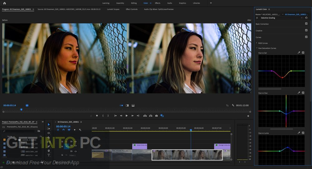 Adobe Premiere Pro CC 2019 Latest Version Download-GetintoPC.com
