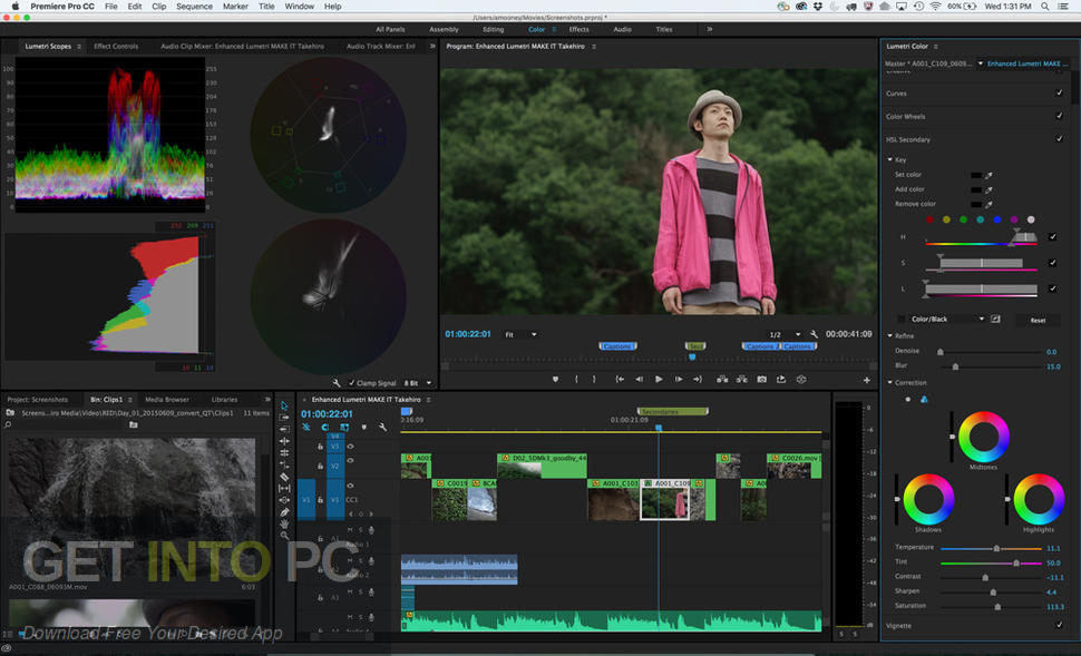Adobe Premiere Pro CC 2019 Offline Installer Download-GetintoPC.com