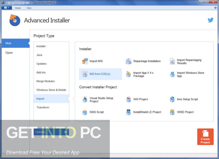 Advanced Installer Architect 15.4 Free Download