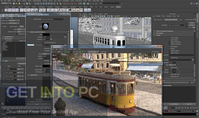 Arnold Renderer for Maya 2014 2015 2016 Latest Version Download-GetintoPC.com