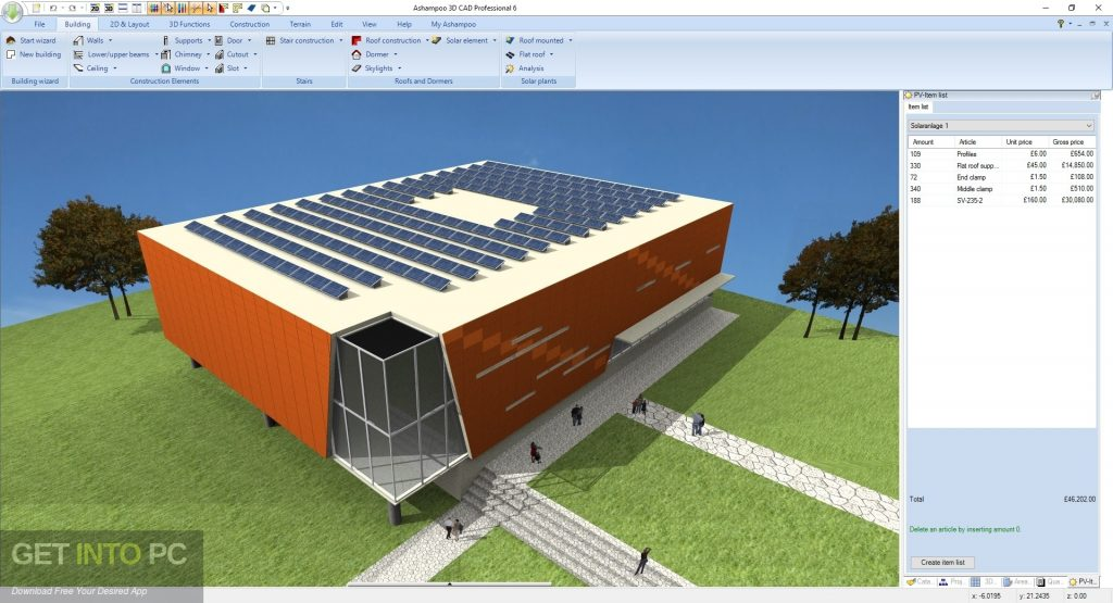 Ashampoo 3D CAD Professional 6 Latest Version Download-GetintoPC.com