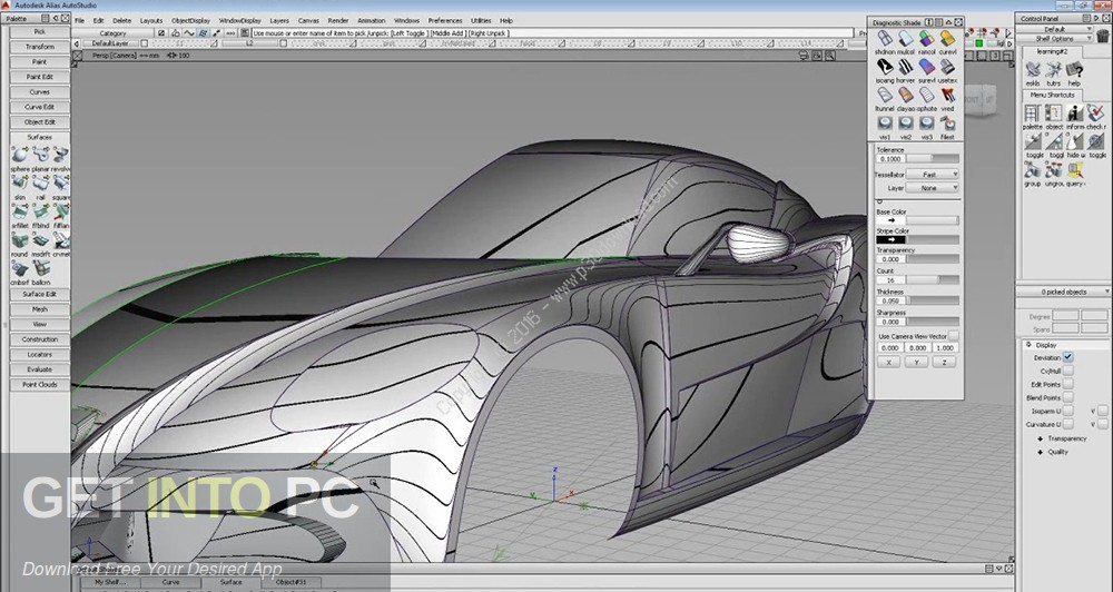 AutoDesk Alias AutoStudio 2018 Direct Link Download-GetintoPC.com