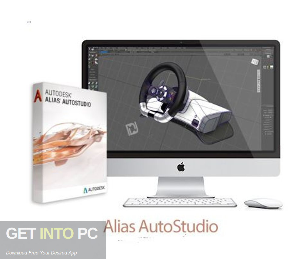 AutoDesk Alias AutoStudio 2018 Free Download-GetintoPC.com