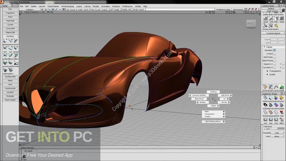 AutoDesk Alias AutoStudio 2018 Latest Version Download-GetintoPC.com