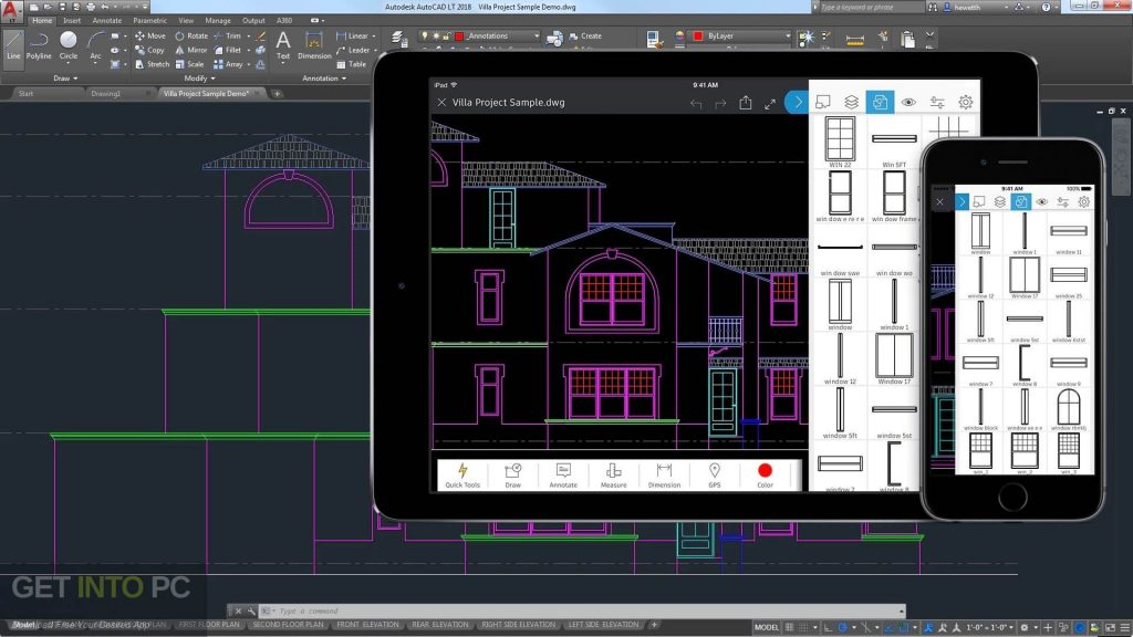 Autodesk Autocad LT 2018 Direct Link Download-GetintoPC.com