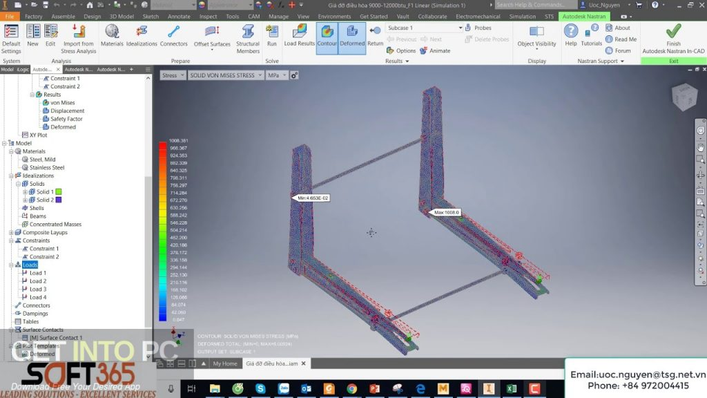 Autodesk Nastran 2019 Offline Installer Download-GetintoPC.com