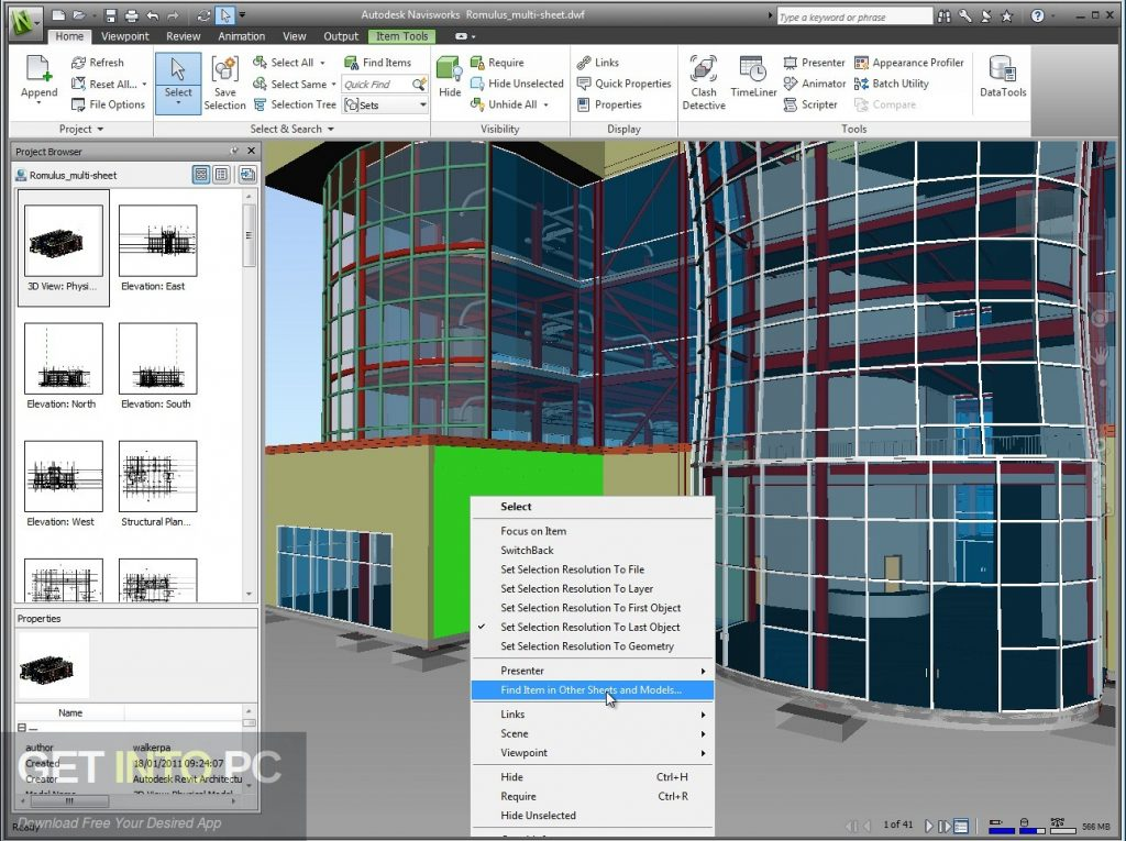 Autodesk Navisworks Manage 2017 Direct Link Download-GetintoPC.com