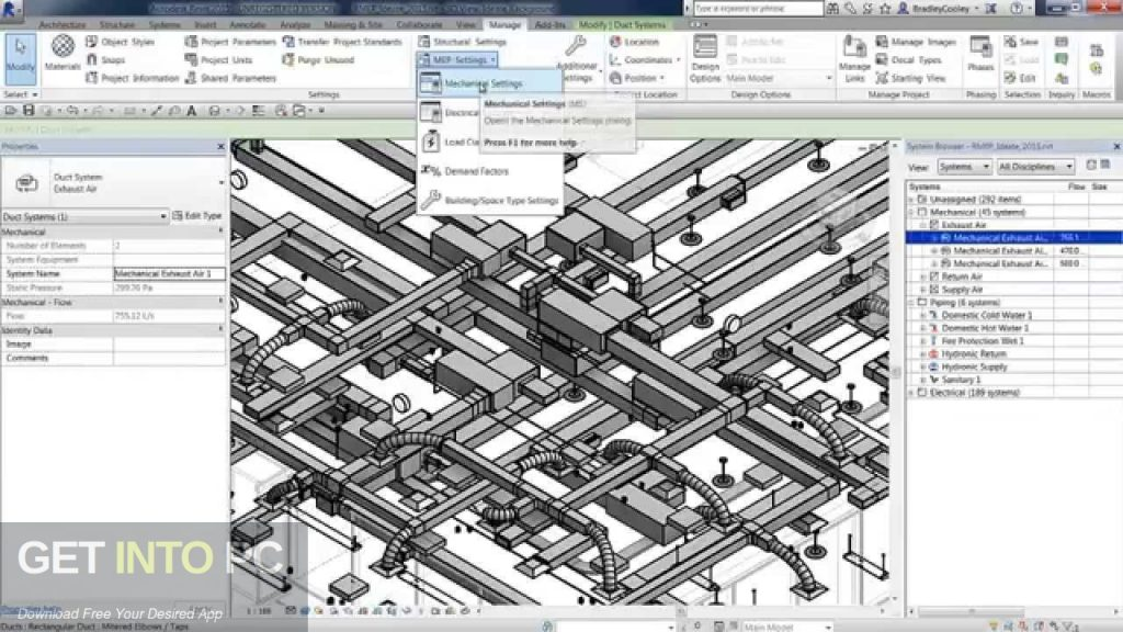 Autodesk Revit MEP 2015 Direct Link Download-GetintoPC.com