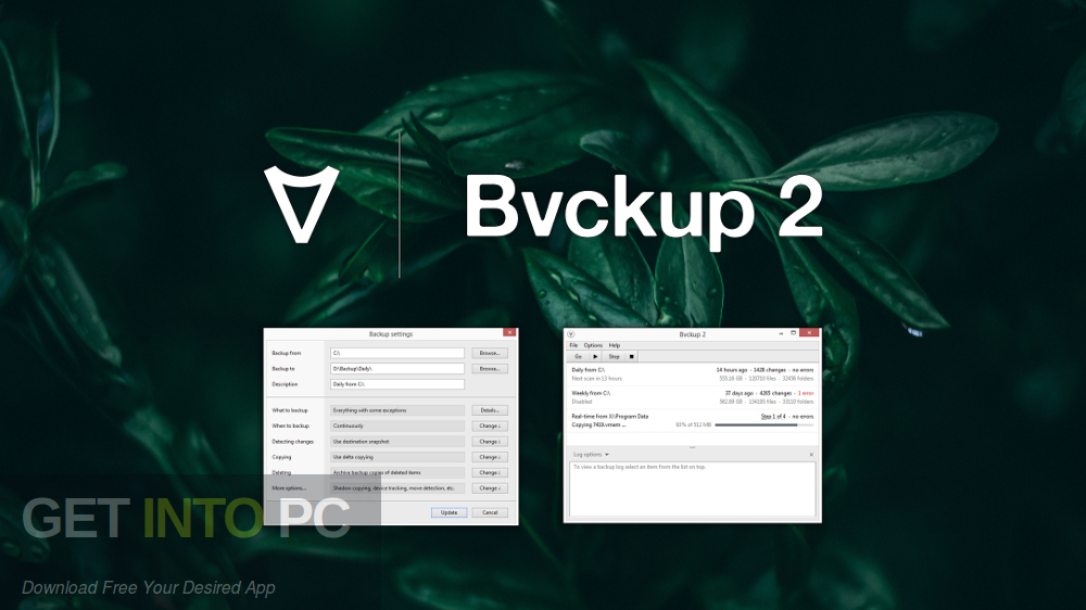 Bvckup 2 Professional Free Download-GetintoPC.com